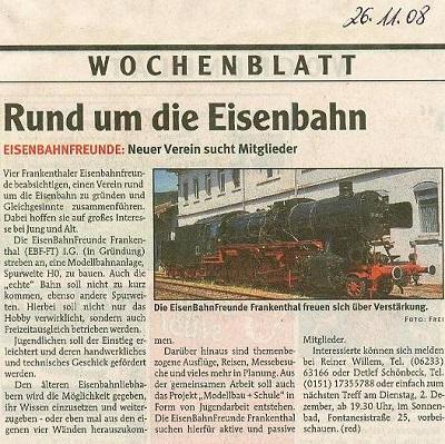 2008-11-26 Zeitungsausschnitt Wochenblatt_1