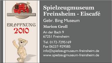 Spielzeugmuseum Freinsheim
