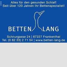 Betten Lang Frankenthal