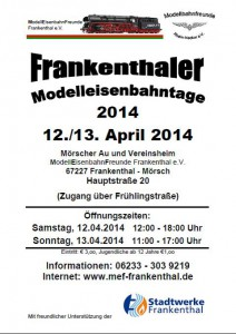 Flyer_Modelleisenbahntage2014