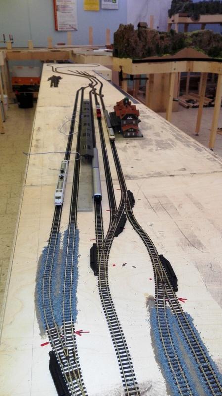 5 gleisiger Bahnhof